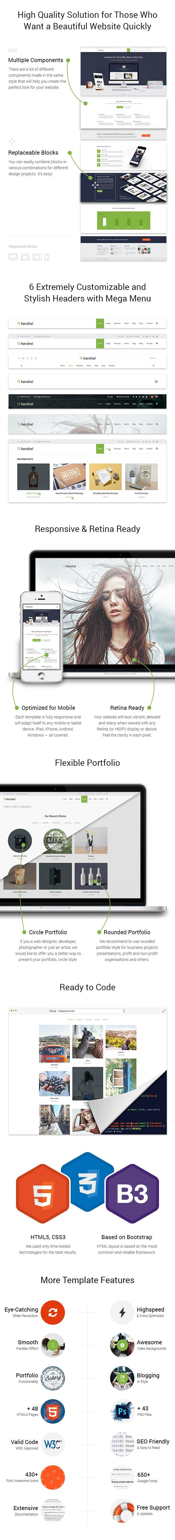 Hershel - Flexible Multipurpose HTML Template - 2