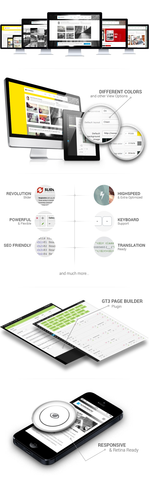 Achromatic Business WordPress Theme - 1