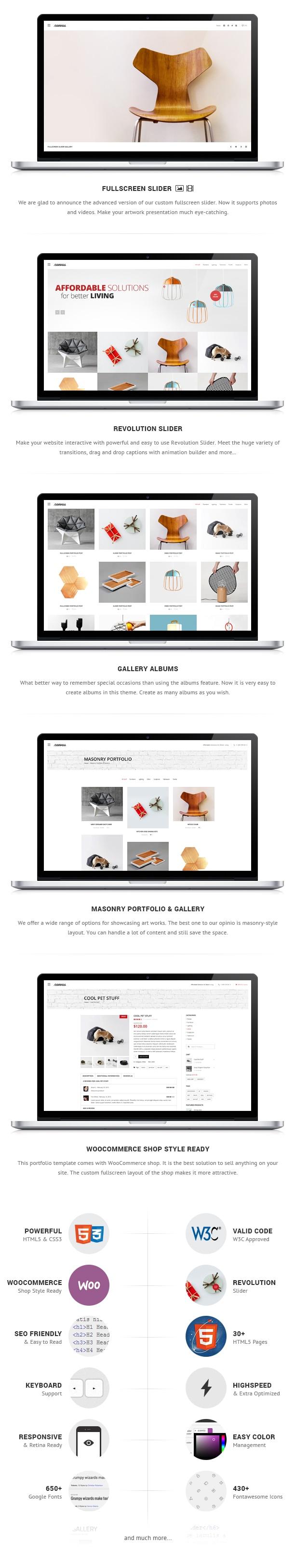 Canvas Interior & Furniture Portfolio Template - 2