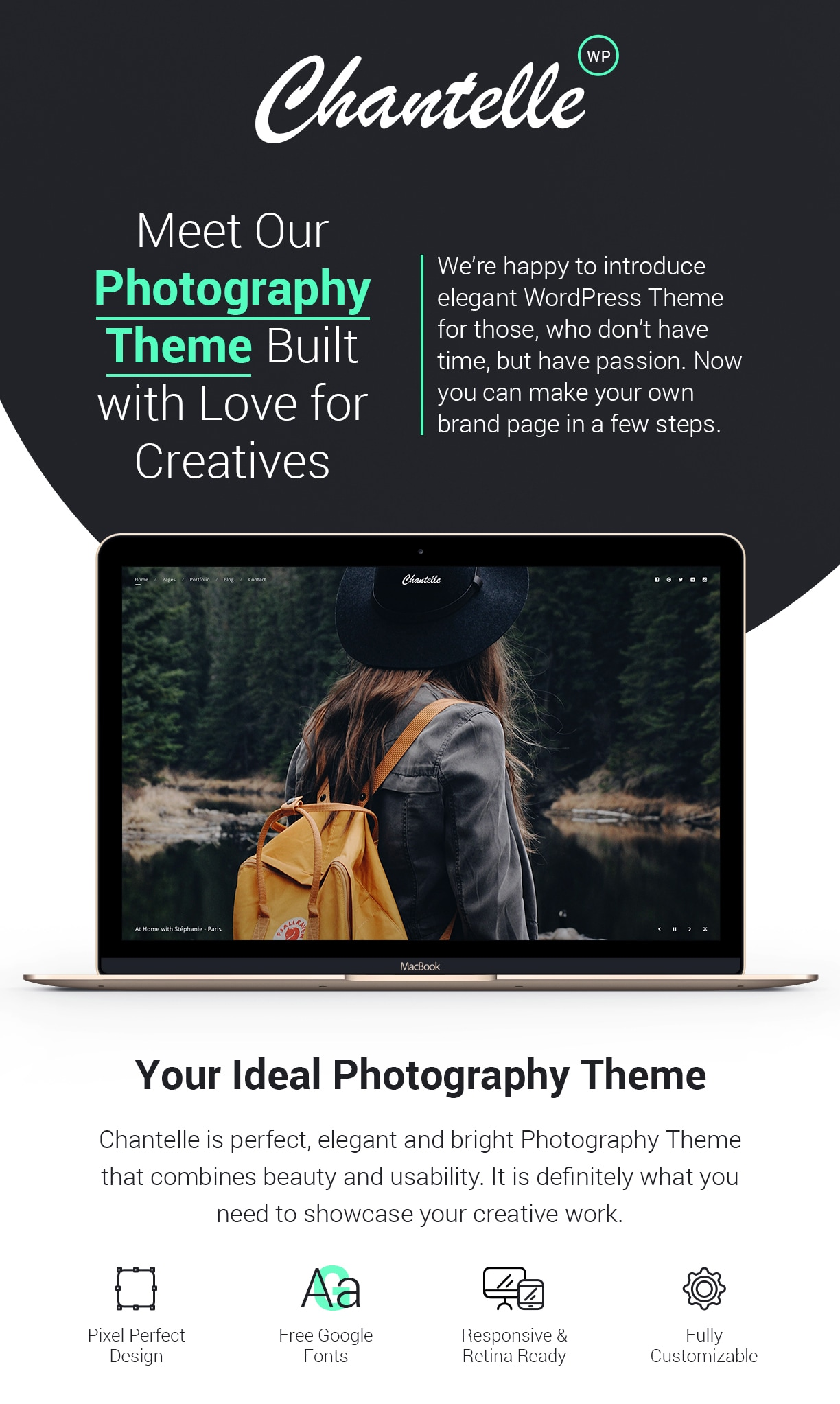 Photo WordPress Theme - Chantelle - 1