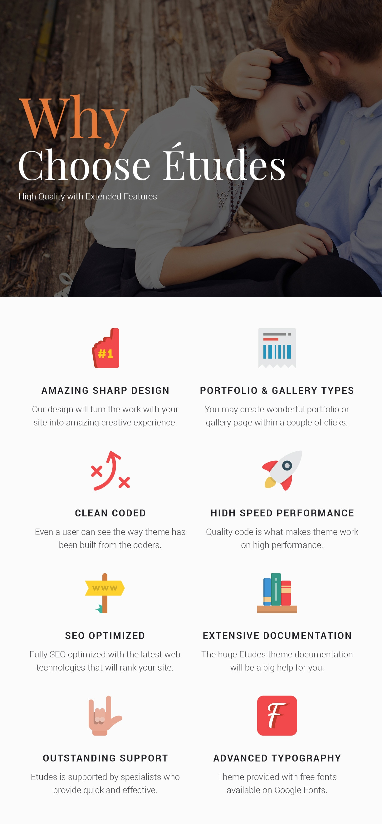 Premium Photography WordPress Theme - Etudes - 9