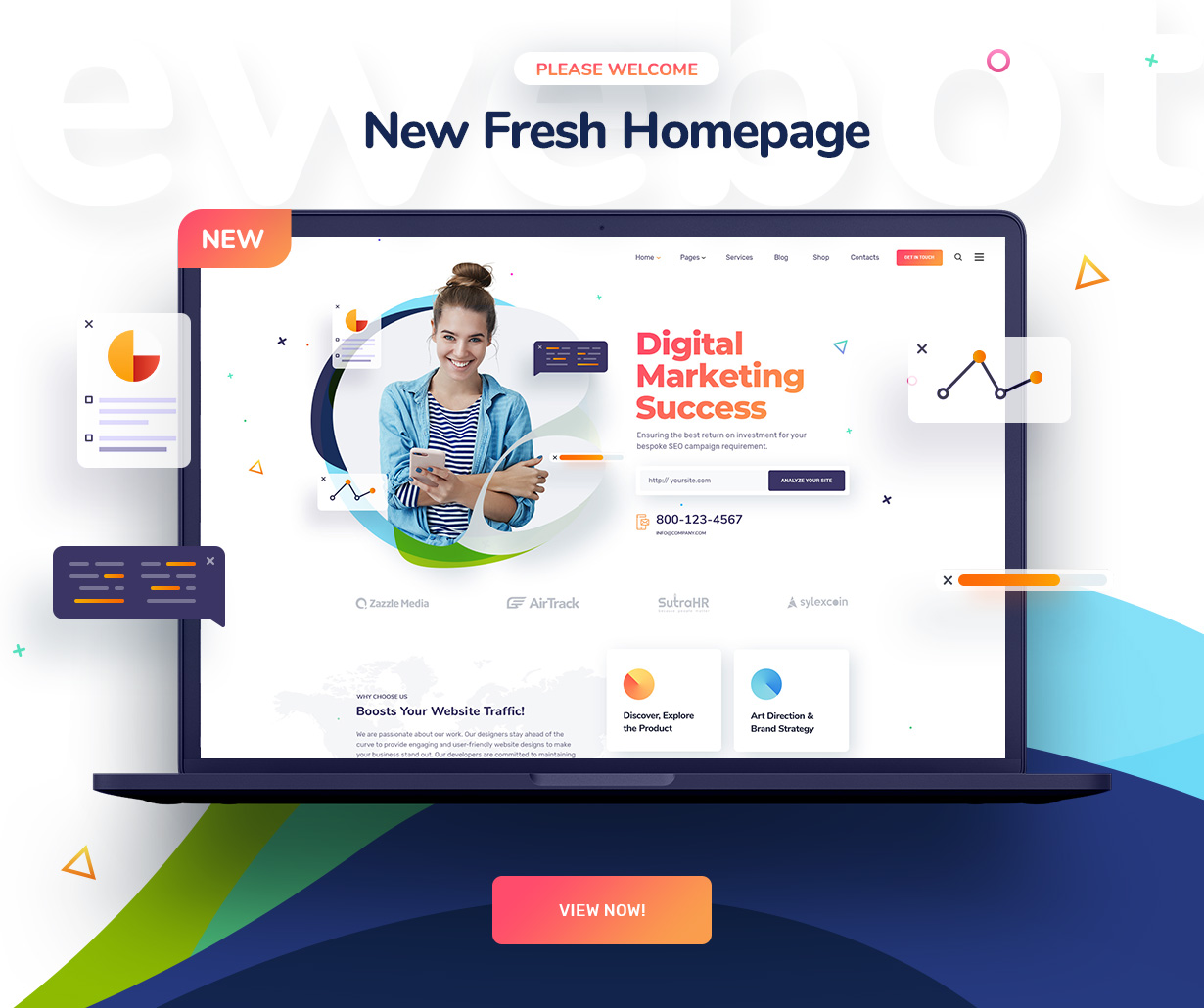 Ewebot - SEO Marketing & Digital Agency - 1