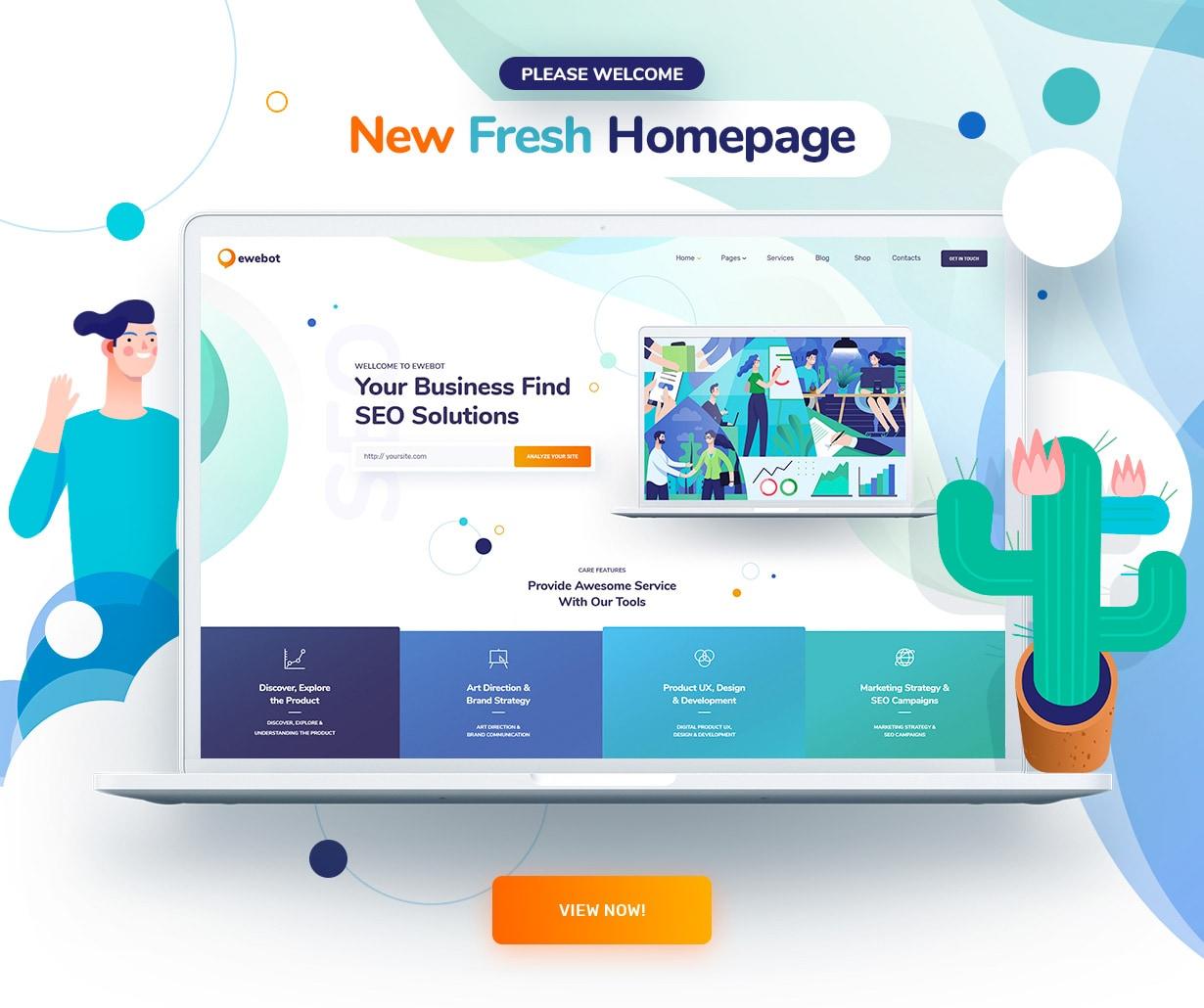 Ewebot - SEO Marketing & Digital Agency - 2