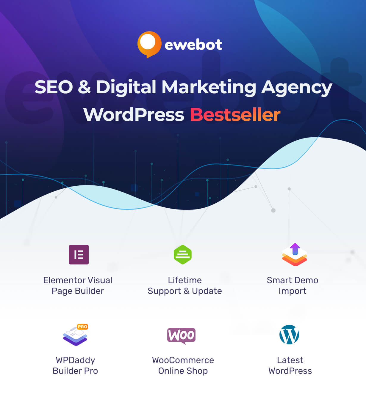 Ewebot - SEO and Marketing Agency WordPress Theme - 2
