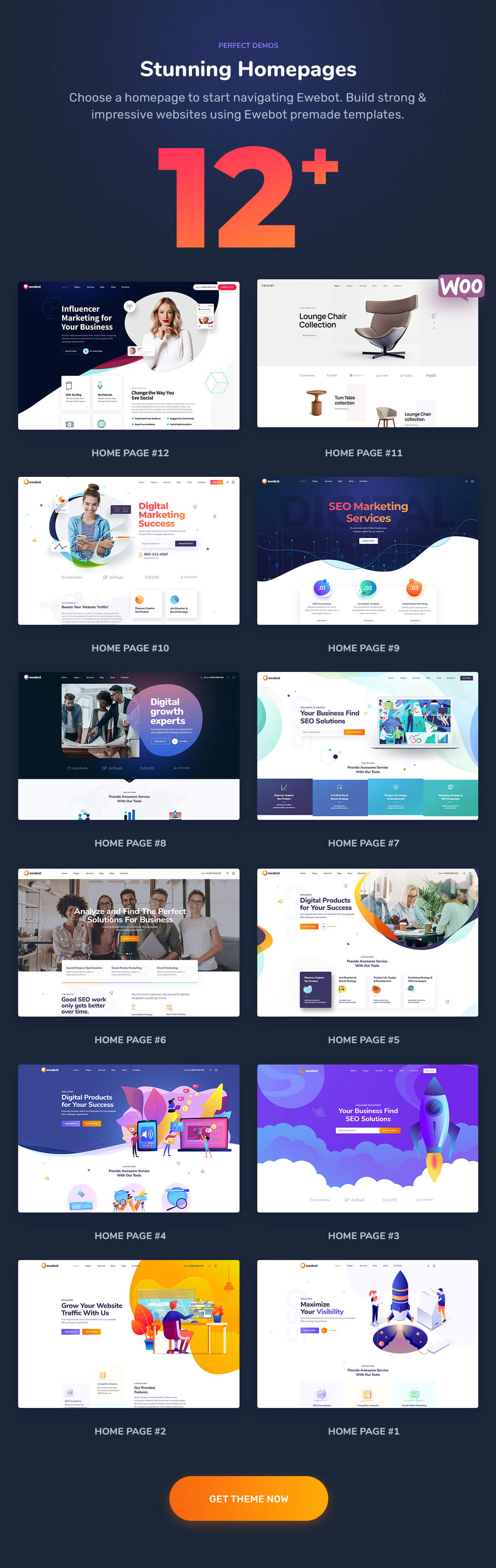 Ewebot - SEO and Marketing Agency WordPress Theme - 3