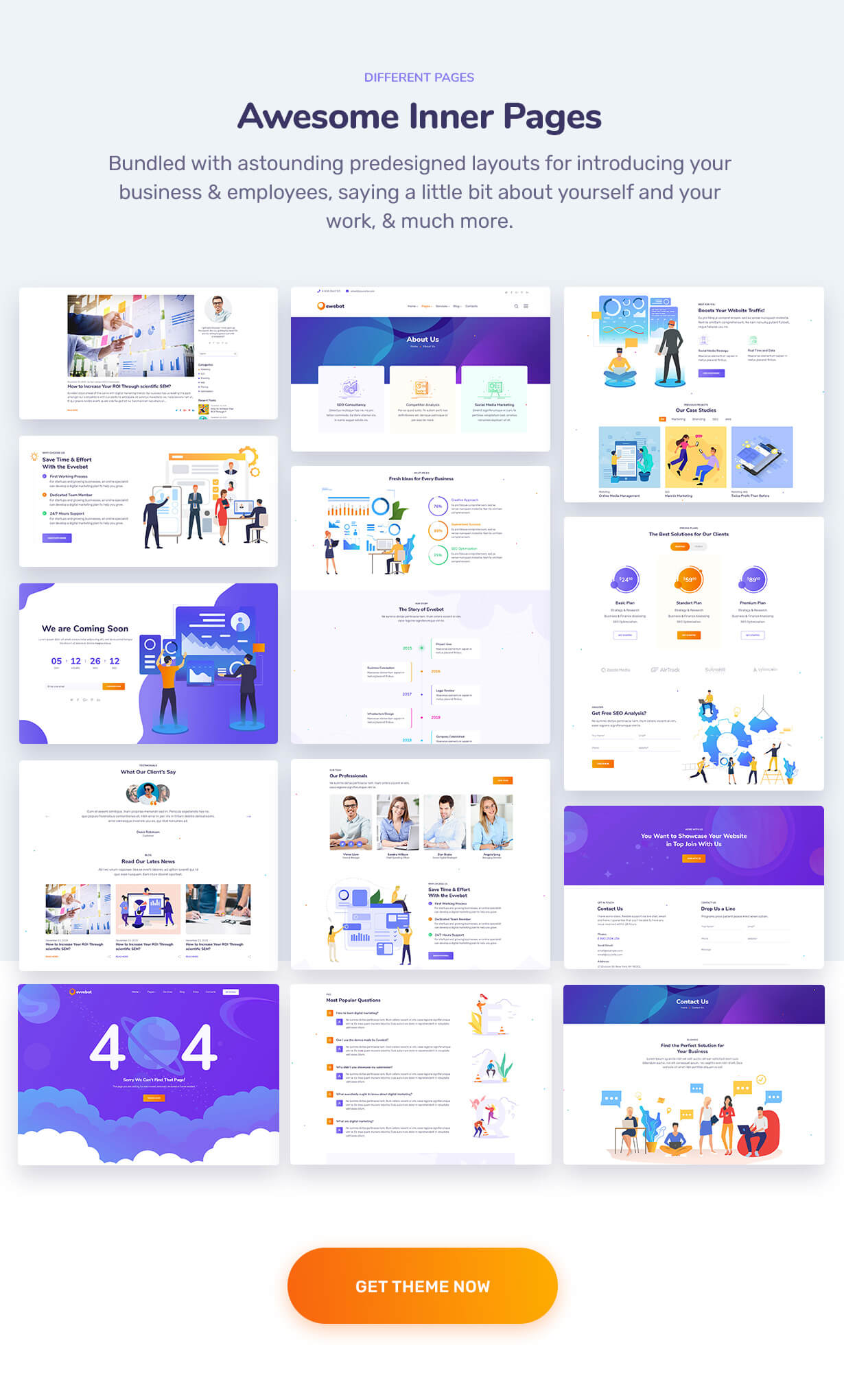 Ewebot - SEO and Marketing Agency WordPress Theme - 5