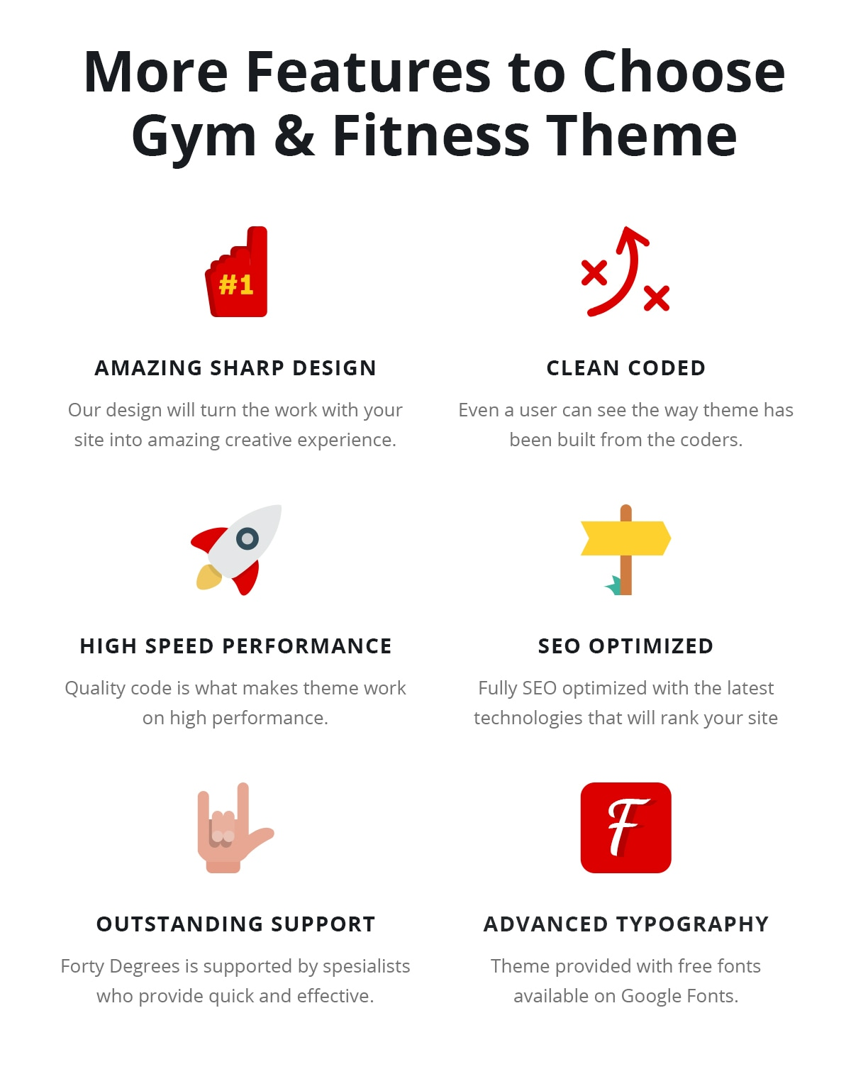 Crossfit Yoga Boxing Sport WordPress Theme - Forty - 6