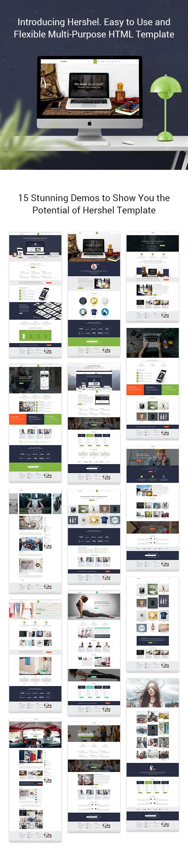 Hershel - Flexible Multipurpose HTML Template - 3