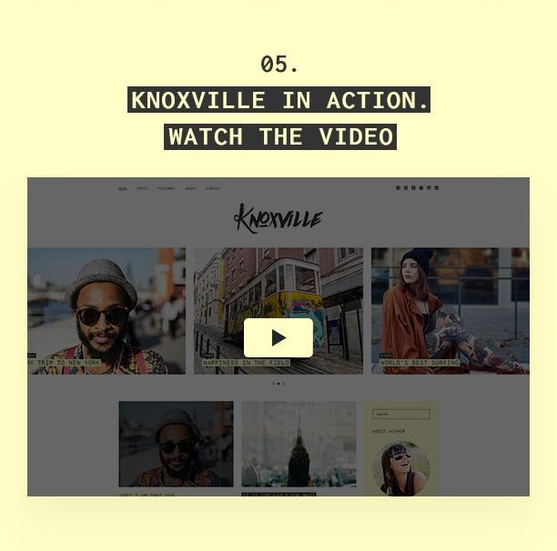 Knoxville - Responsive WordPress Blog Theme - 2