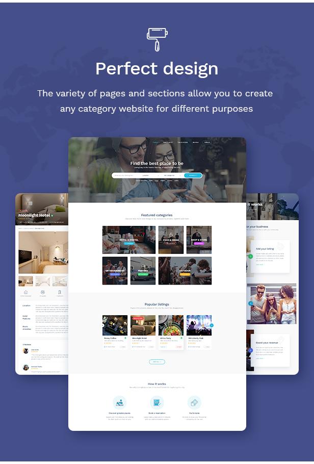 ListingEasy Directory WordPress Theme - 4