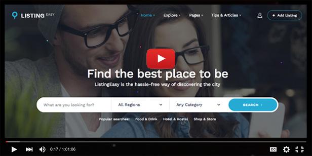 ListingEasy Directory WordPress Theme - 2