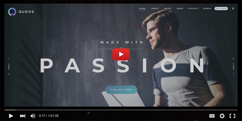 Qudos - Multi-Purpose Elementor WordPress Theme - 1