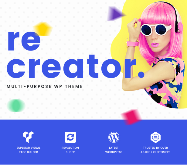 Recreator - Creative Multi Purpose WordPress Theme - 2