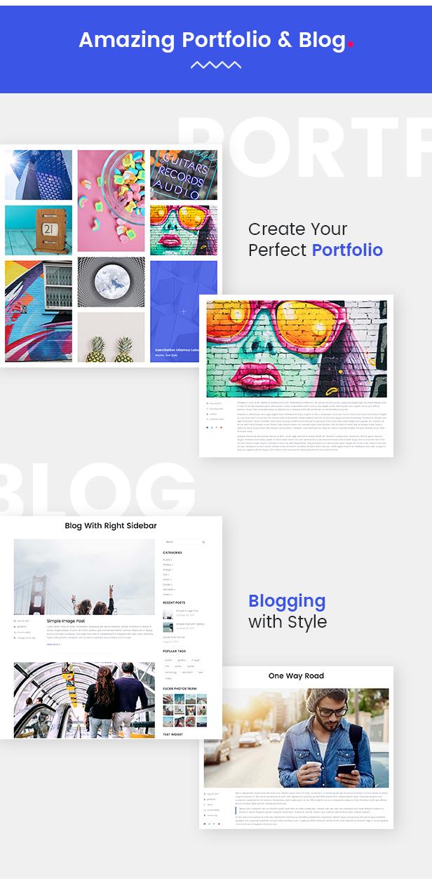Recreator - Creative Multi Purpose WordPress Theme - 4