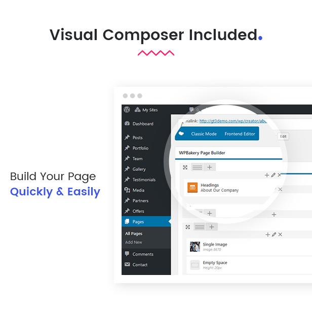 Recreator - Creative Multi Purpose WordPress Theme - 8
