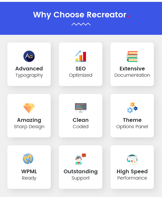 Recreator - Creative Multi Purpose WordPress Theme - 9