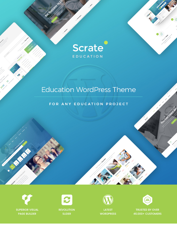 Scrate - WordPress Theme for Education and Teaching Online Courses - 2
