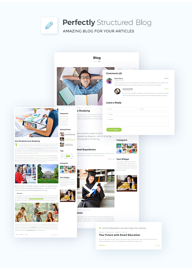 Scrate - WordPress Theme for Education and Teaching Online Courses - 8