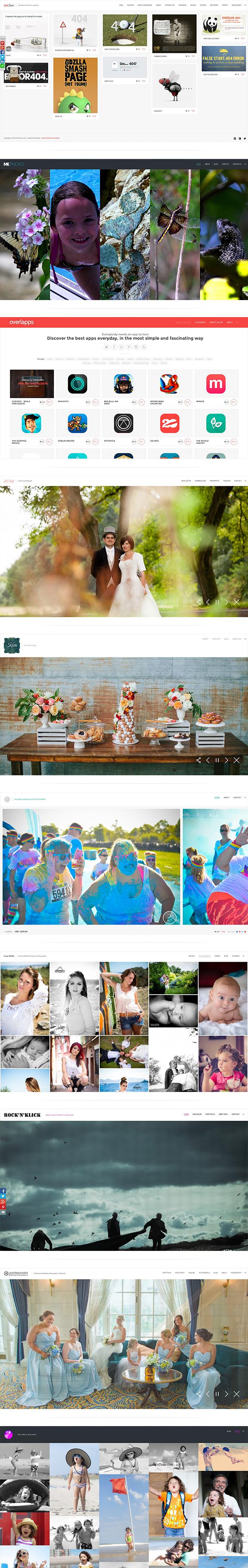 Photography Portfolio WordPress Theme - Oyster - 1