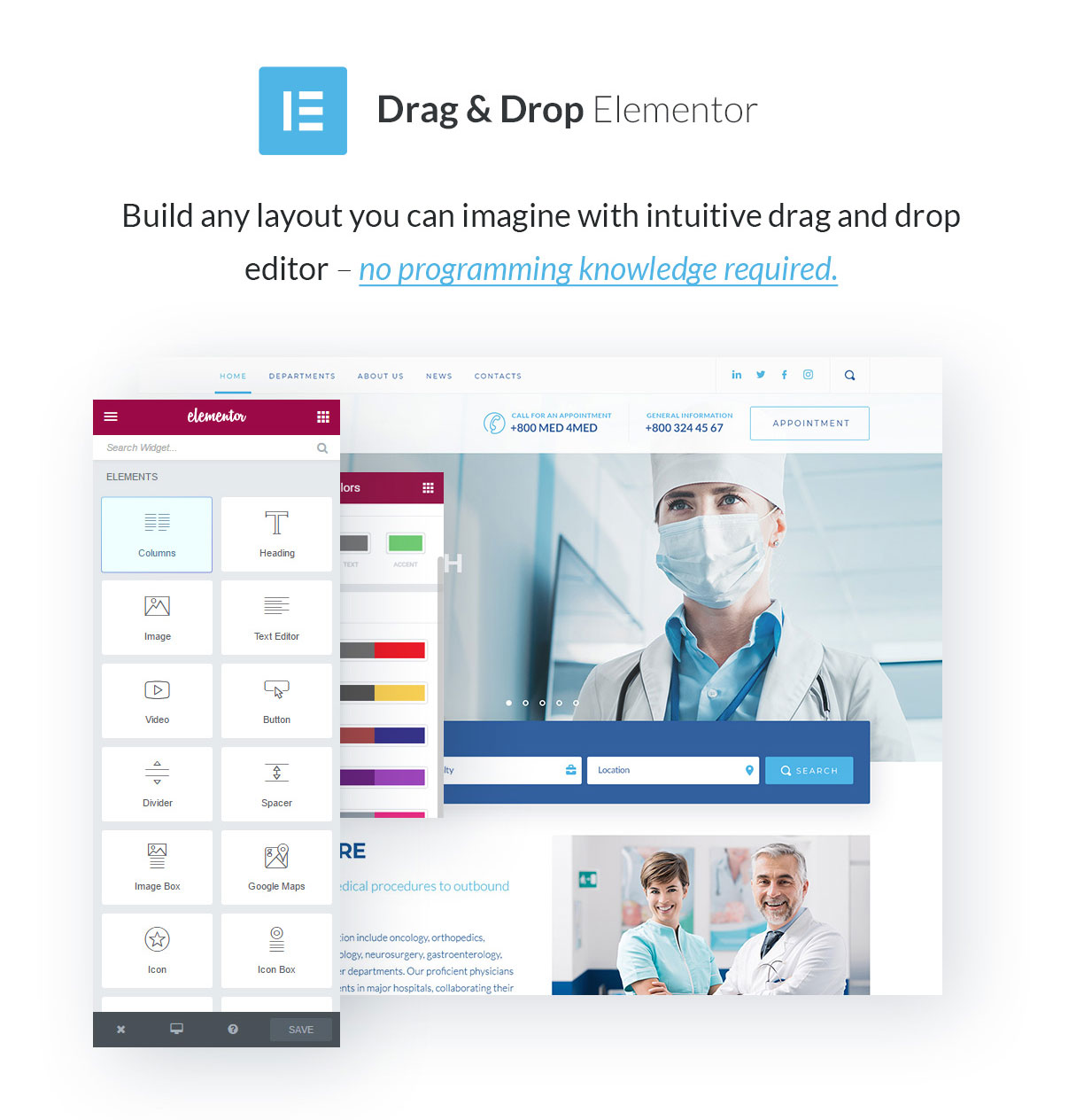 Sirona | Medical & Health WP Theme for Elementor - 2