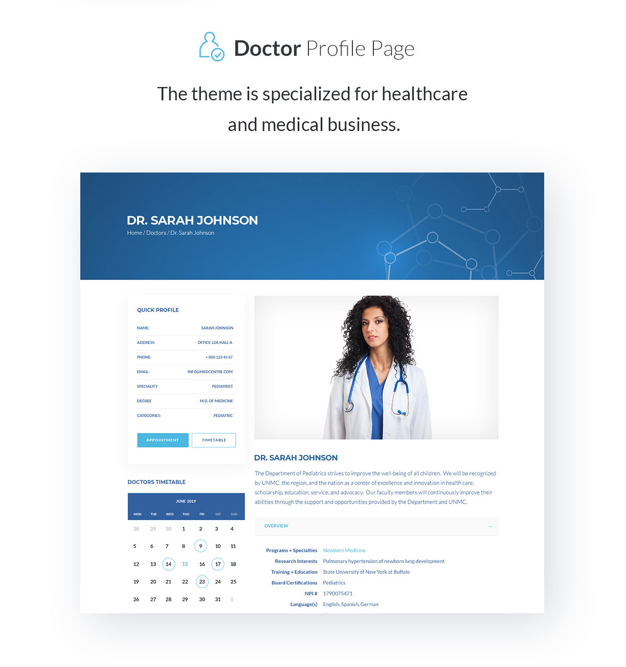 Sirona | Medical & Health WP Theme for Elementor - 3