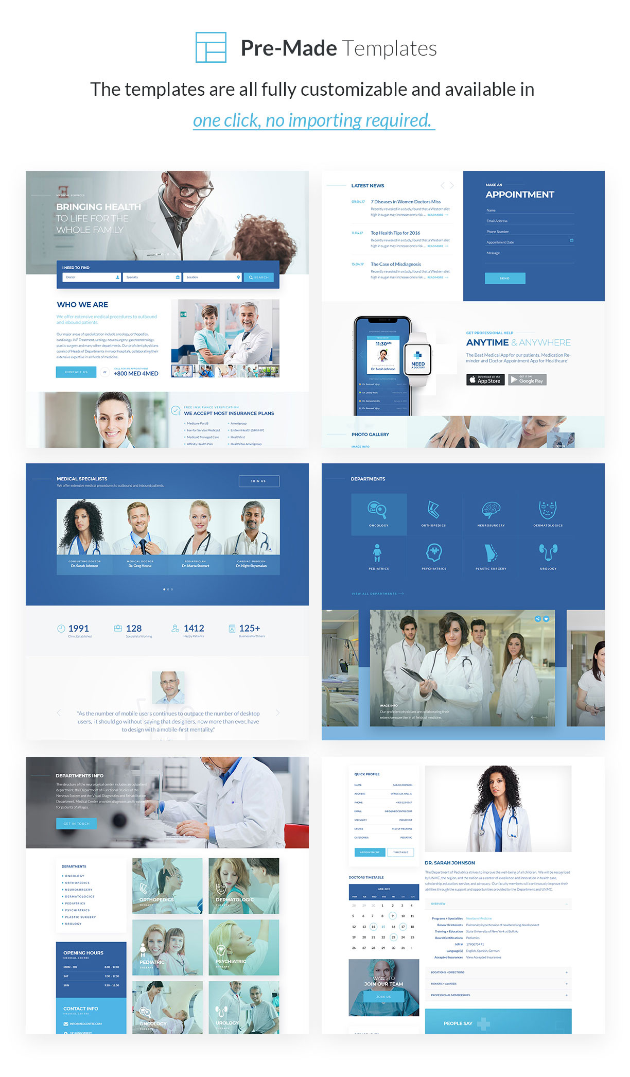 Sirona | Medical & Health WP Theme for Elementor - 5