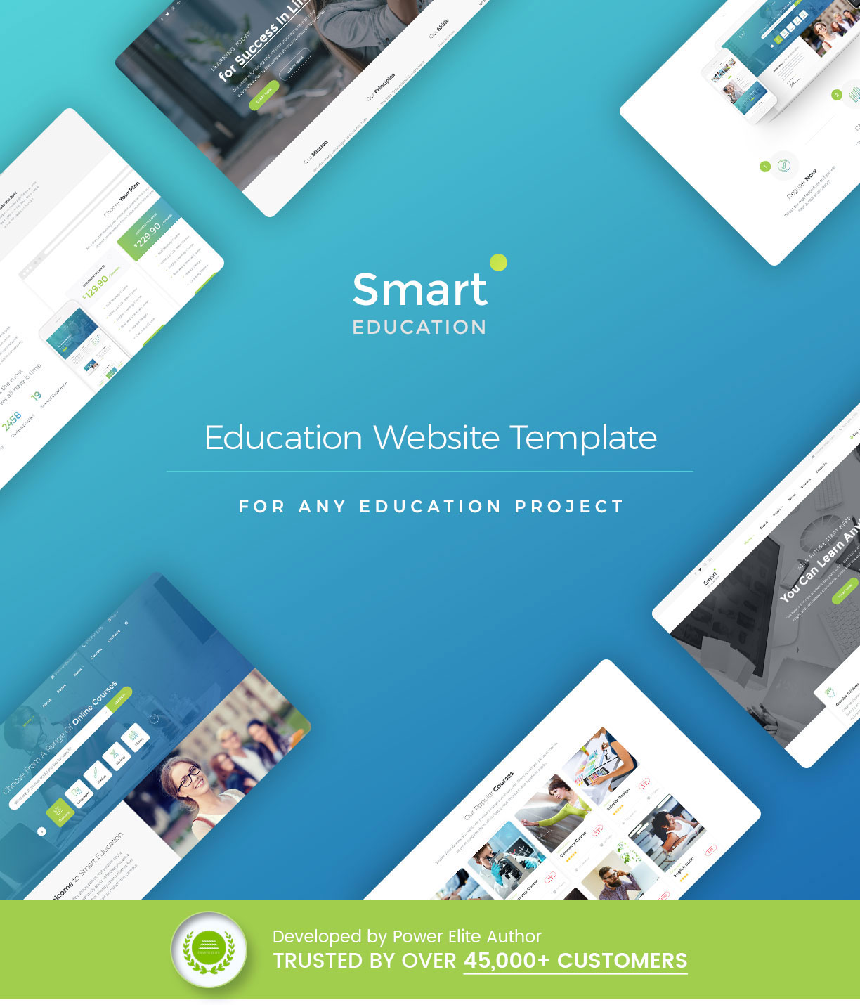 Educational, Courses, College, Events  - Smart Education - 4