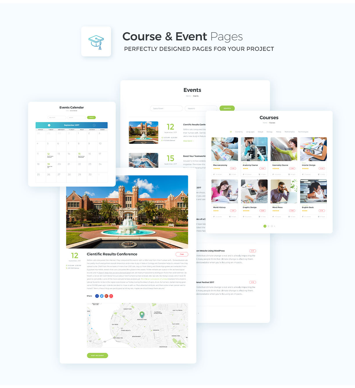 Educational, Courses, College, Events  - Smart Education - 6
