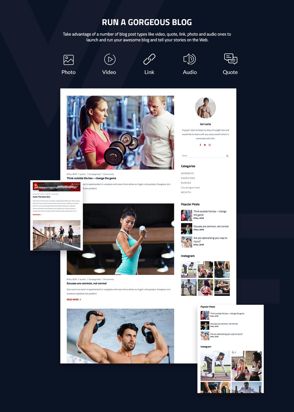 WizeFit – WordPress Theme for Gym & Fitness Clubs - 4