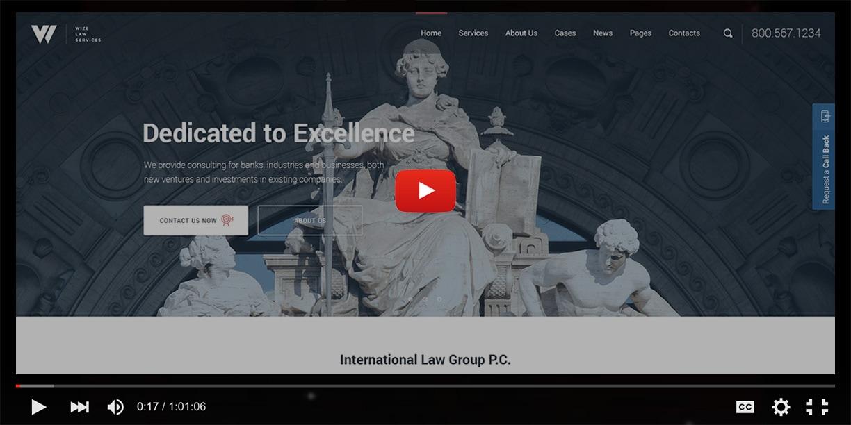 Law Services | Lawyer & Attorney Business WordPress - WizeLaw - 2