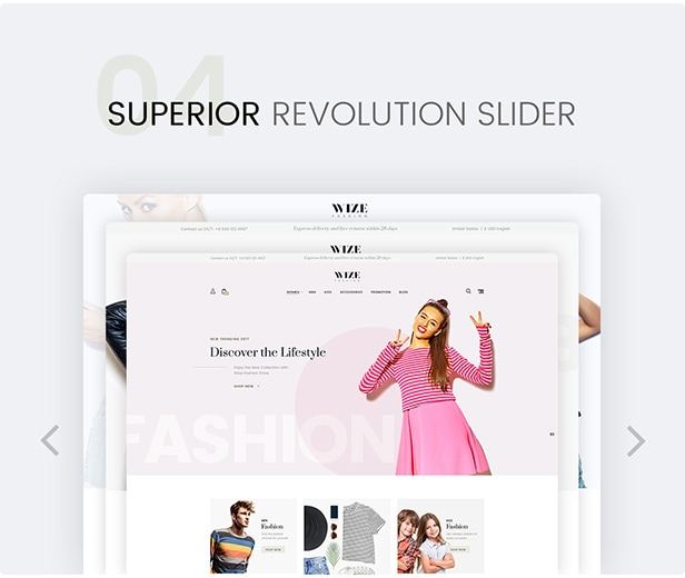 WooCommerce Multipurpose Responsive WordPress Theme - WizeStore - 11
