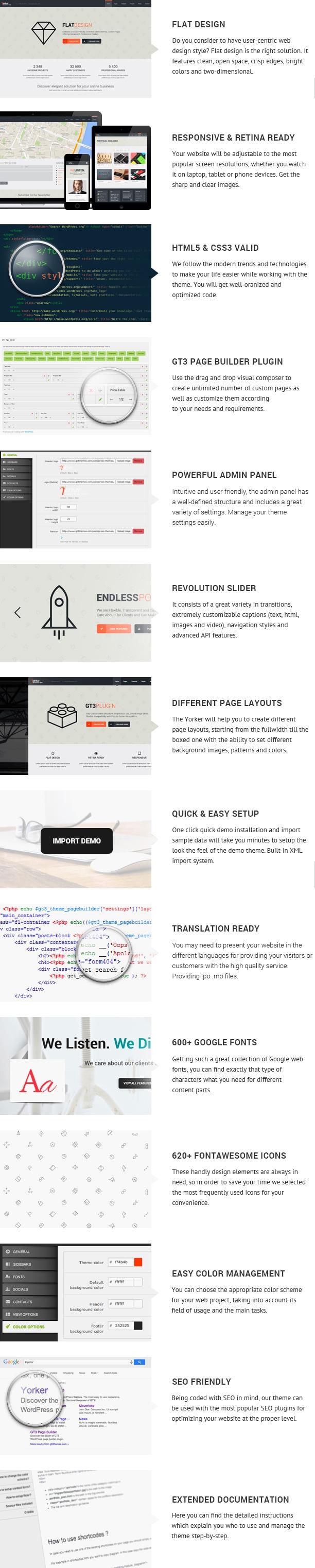 Yorker Business WordPress Theme - 1