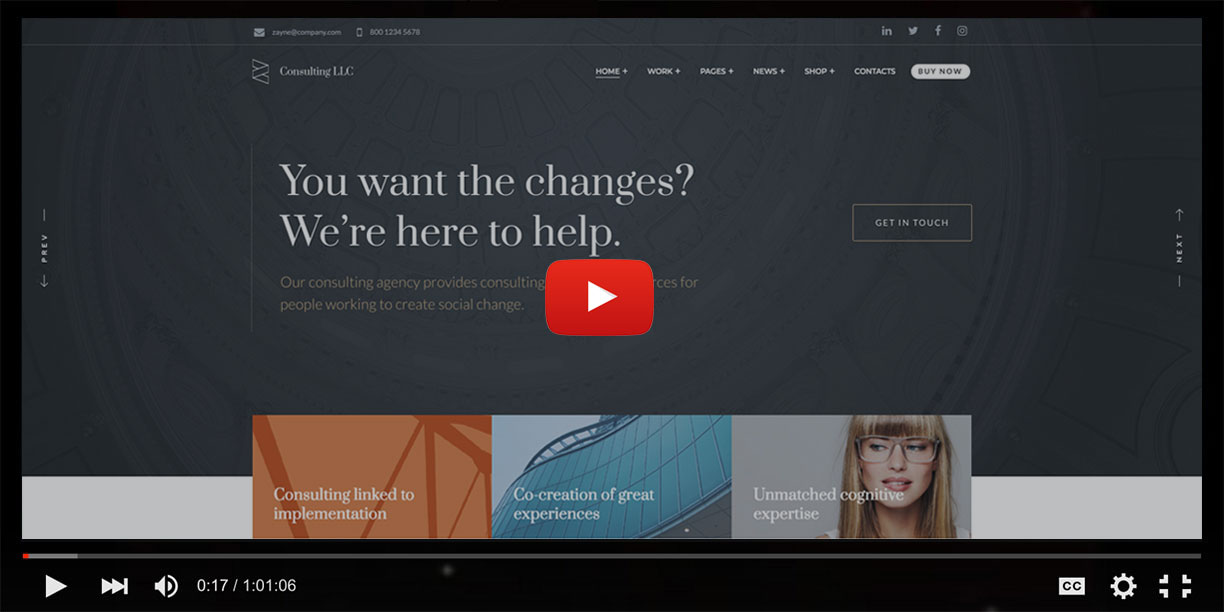 Zayne – Corporate Business Elementor WordPress Theme - 1