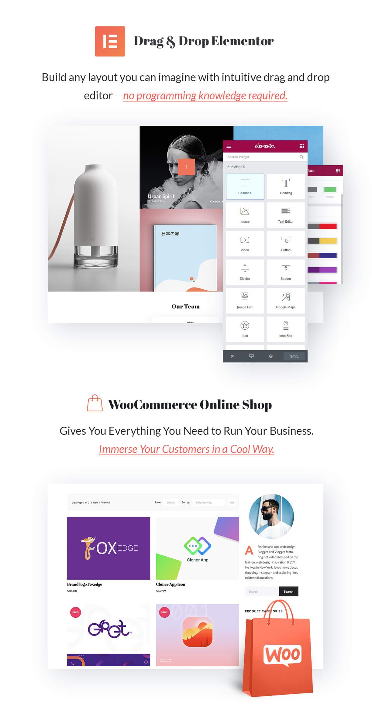 Elementor Creative Portfolio WordPress Theme - Zpholio - 5