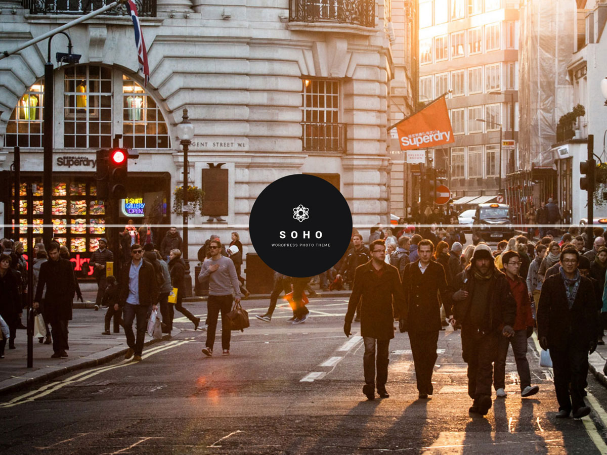 Soho – Photography & Videography WordPress Theme